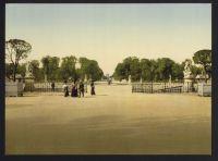 Paris 1900 - Jardins des Tuileries