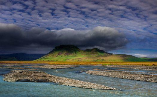 Markarfljót, southern Iceland