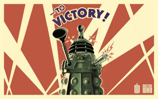 to victory, doctor who