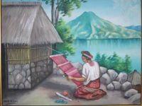 Arte contemporaneo guatemala Juan Sisay nació en 1920 en Santiago Atitlán