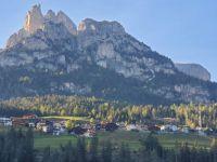 Dolomites morning sun