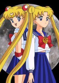 Sailor Moon and Usagi