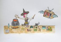 Witchy Kitchen (small)