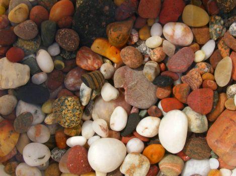 Pebbles from Cornelian Bay North Yorkshire