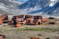 Abandoned US-Base Bluie East Two Greenland