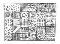 Pattern grid large