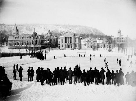 Ice hockey McGill University 1884
