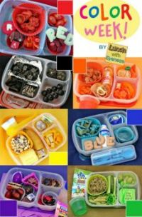Colourful Lunchboxes