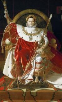 Jean-Auguste-Dominique Ingres (French, 1780–1867), Napoleon I on His Imperial Throne (1806)