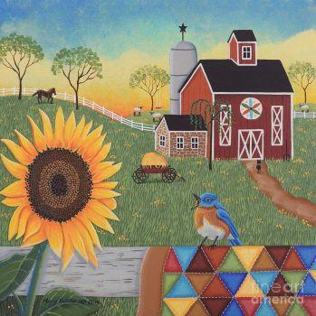 Mary Charles-sunflower-sunrise