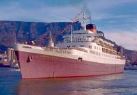 Windsor Castle leaving Cape Town