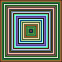 Concentric Squares (75 of them) 81