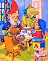 Noddy and Big Ears Visit the Bears For Tea