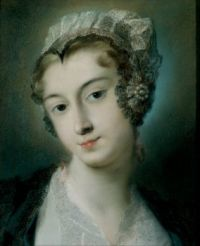 Rosalba Carriera - A Tyrolean Innkeeper circa 1728