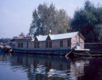 The floating post office on Dal Lake, Srinagar, Kashmir, India