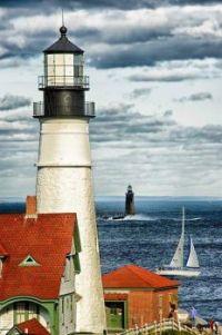 Portland Head Lighthouse -- Cape Elizabeth, Maine....
