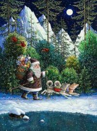 Cross-Country Santa