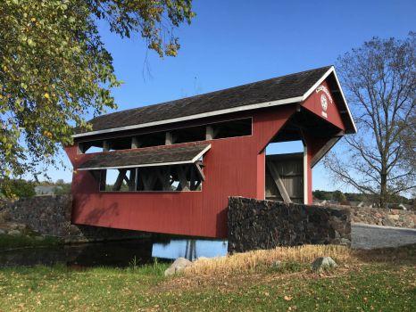 Covered Bridge in Indiana