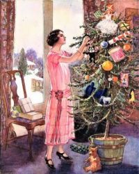 THEME ~ Fashion, Hairstyles & Shoes ..... 1920 Christmas
