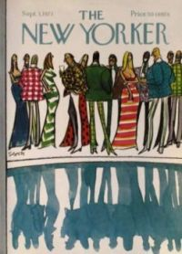 The New Yorker - September 3, 1973 / Cover art by Charles Saxon