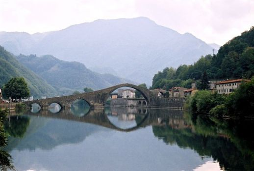 Bridge In Mountain