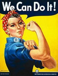 Political Posters: Rosie the Riveter