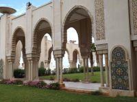 Hassan II Mosque Courtyard in Casablanca