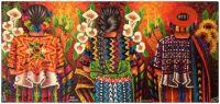 Cartuchos y girasoles ~ Pedro Arnoldo Cruz Sunu (Mayan)