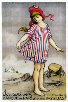 French Poster c.1920