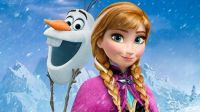 Olaf and Anna - Frozen