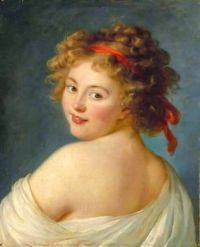 Portrait thought to be Ekaterina Vassil