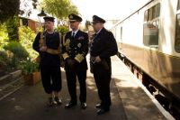 gloucestershire warwickshire railway 23-04-2016 toddington station 1940s weekend KE vlll impersonator 02