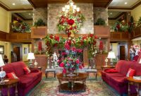 Christmas Hotel Lobby in Tennessee