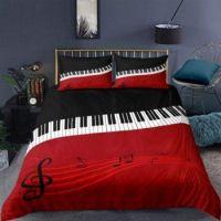Piano Music Bedding