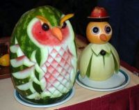 GREAT CARVING OF FRUIT