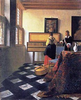 Vermeer - The Music Lesson