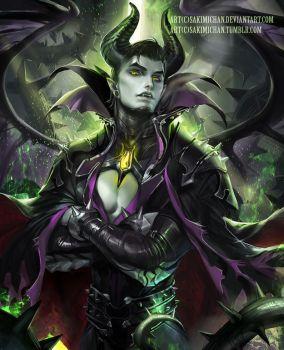 Genderbent Maleficent