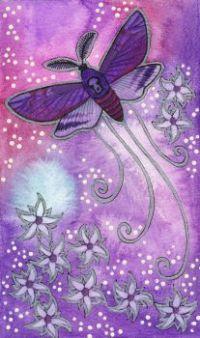 Violet Series Moth