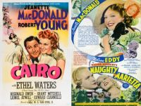Cairo ~ 1932 and Naughty Marietta ~ 1935