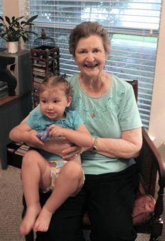 Mimi and Reagan