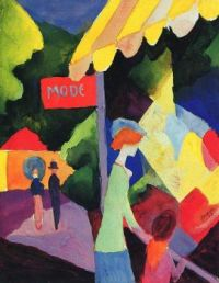 Fashion window - August Macke