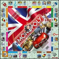 Monopoly UK Edition--Large Pieces