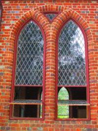 Jamestown Church Window