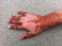 My Henna Hand