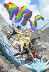Happy Pride Month from Marvel/DC Comics