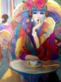 Vivian, Portrait by Isaac Maimon,