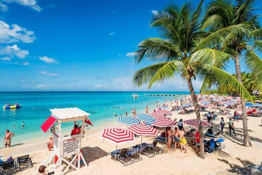 Doctor's Cave Beach in Montego & Margaritaville, Falmouth, Jamaica