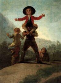 Goya - Playing at Giants (1792)