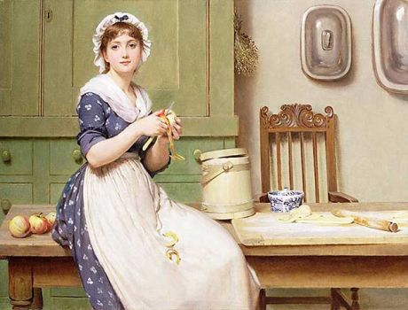Apple Dumplings by George Dunlop Leslie