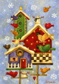 Winter Birdhouses (small)